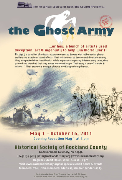 Ghost Army Exhibt--Opening Reception